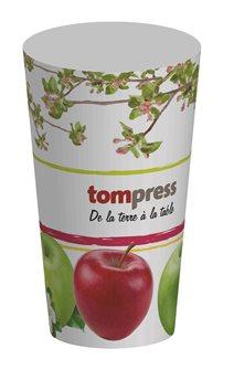 Gobelets réutilisables Tom Press motif pomme