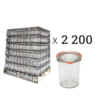 Verrines Weck 160 ml per pallet of 2200