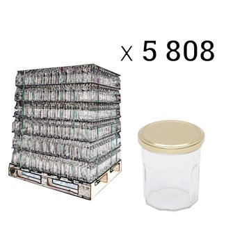 Pallets pots jam 200g by 5808 pieces