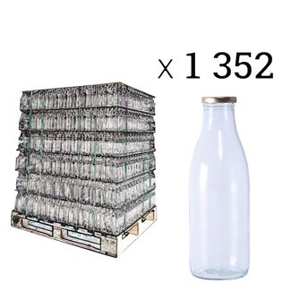Juice bottles per pallet of 1352 pieces