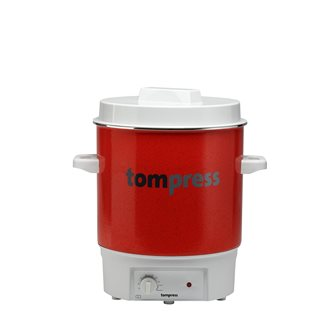 Tom Press enamelled electric steriliser