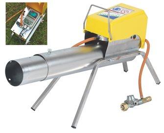 Automatic gas canon bird-scarer