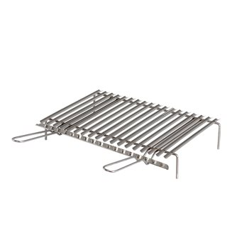Stainless steel barbecue grill with grease collection