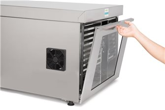 Stainless steel professional dehydrator with UV filter