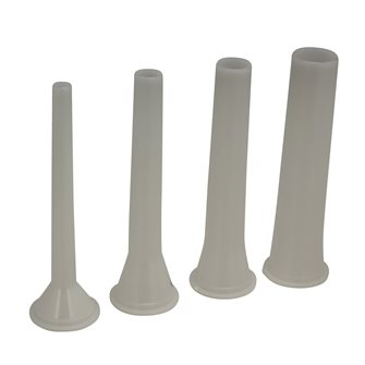 Series of funnels for all Reber presses