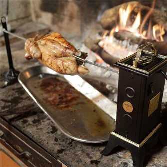 Rotisserie cooking