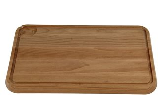 Chopping board with gulley 43x29 cm