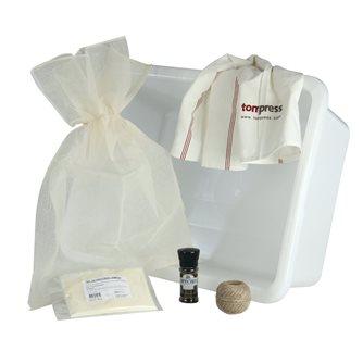 Kit for salting dry ham by Tom Press