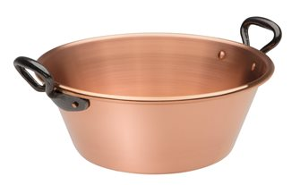 Jam basin in solid copper 3.5 litres