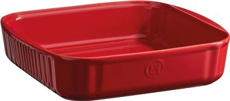 Grand Ceramic Emile Henry 24 cm square baking tin
