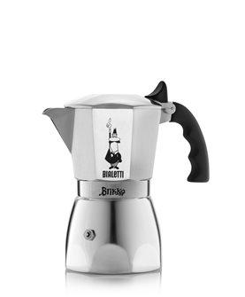 Italian coffee 4 cups for creamy espresso