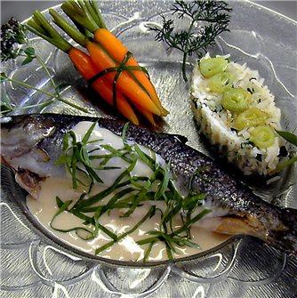 Prepare a deliciously seared fish