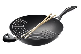 Wok IQ SCANPAN 32 cm non-stick with grid guarantee for life
