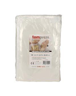 Vacuum seal bags - 20x25 cm by 100