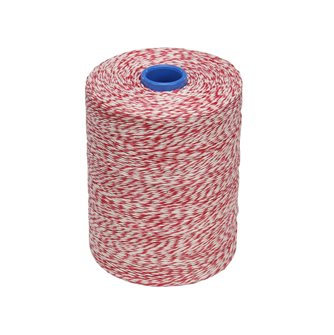 Roll 1 kg of string for sliced white red smooth flax