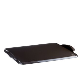 Anthracite charcoal board Emile Henry ceramic charcoal