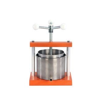 5 litre stainless steel screw press