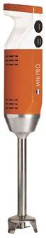 Mini Pro Blender Orange 220W 13000 turns 4 tips made in France