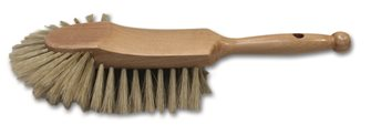 Half head counter brush for flour