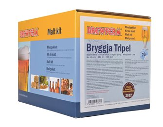 Bryggja Tripel malt kit for 20 liters of beer