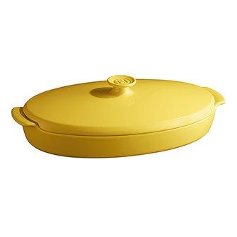 Ceramic papillote dish - Yellow Provence