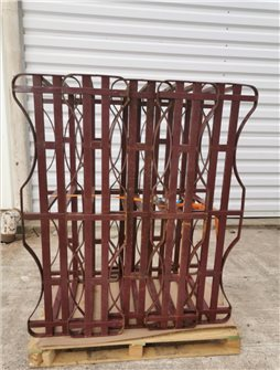 225 liters stackable barrel rack second-hand