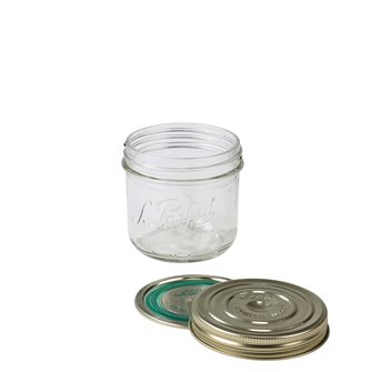 Jar Familia Wiss® 350g with its capsule and its lid