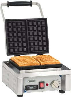Professional waffle maker 1,600 W one waffle