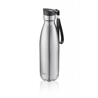 Gray insulated bottle 750 ml
