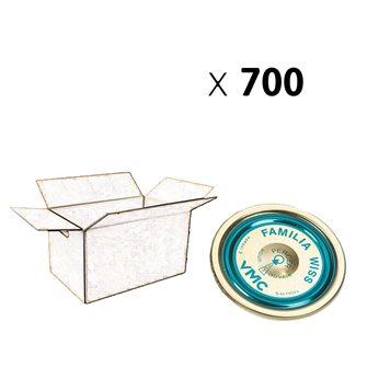 Familia capsule Wiss® 100 mm per carton of 700