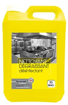 Degreaser disinfectant pro food fast action concentrated 5 liters