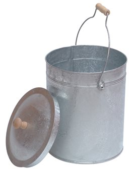 Bucket for seeds or ashes