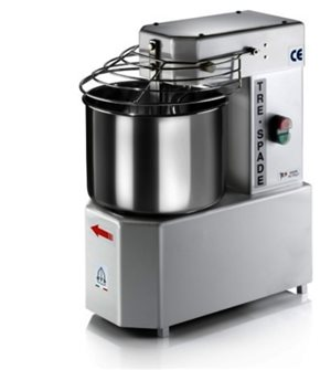 Electric baker´s kneading machine with stainless steel 10 litre bowl