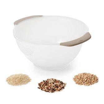 Rice and grain strainer