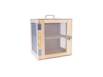 Natural wood pantry 40x40x30 cm